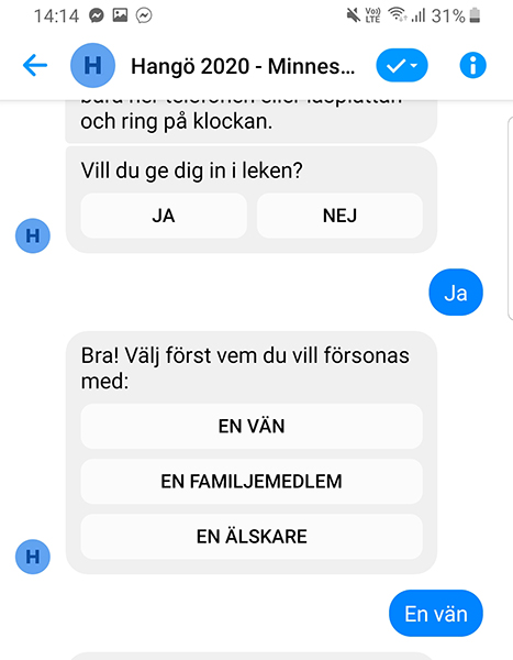 Minnesbyrån screenshot 1